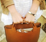the small brown bag