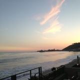 sunset & peplum