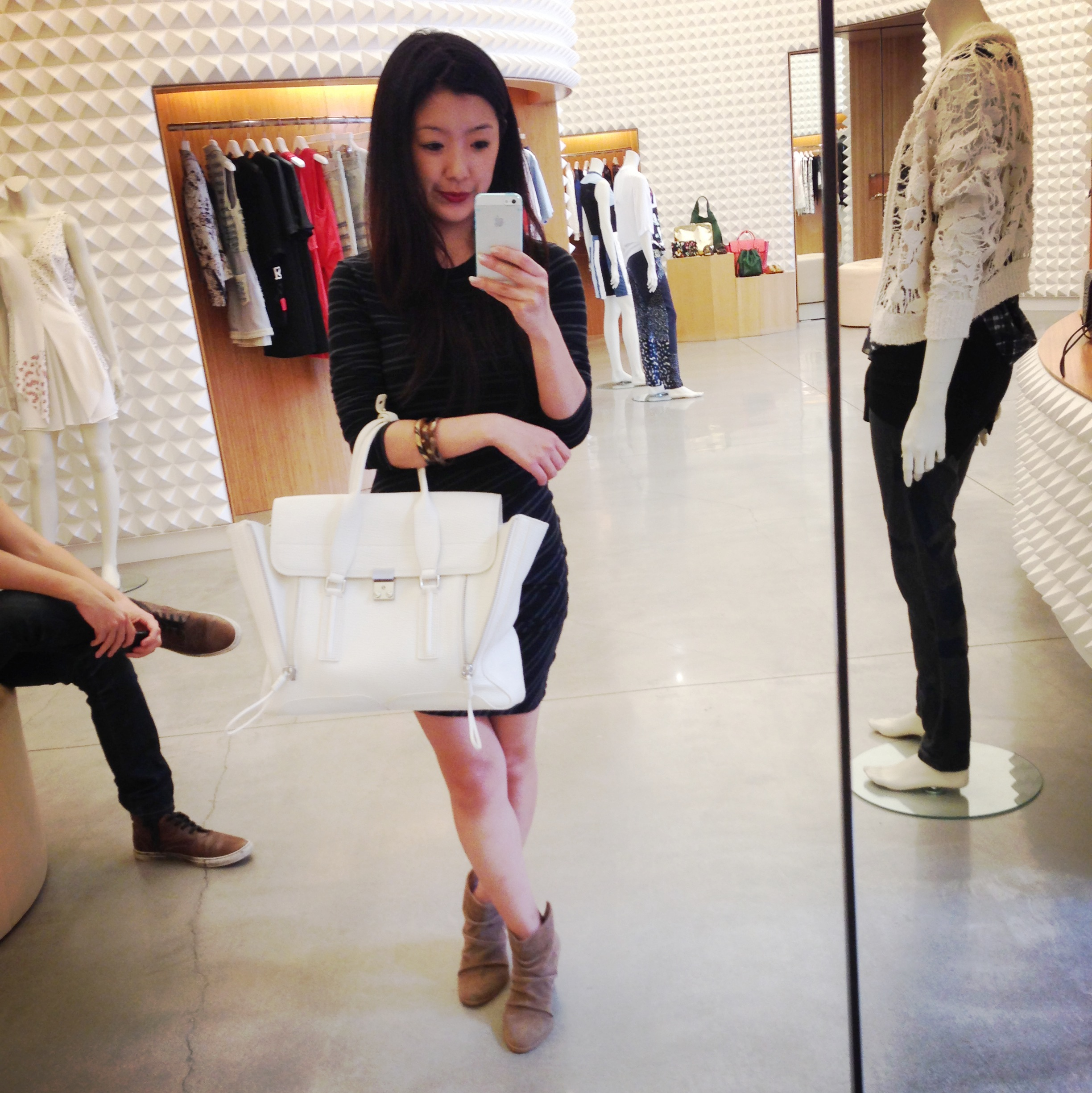 Weho Off To Brunch We Go Neverendingwishlist Philip Lim Medium Pashli Brick Rhw I Fell In Love With The White But Too Bad It Doesnt Come Size